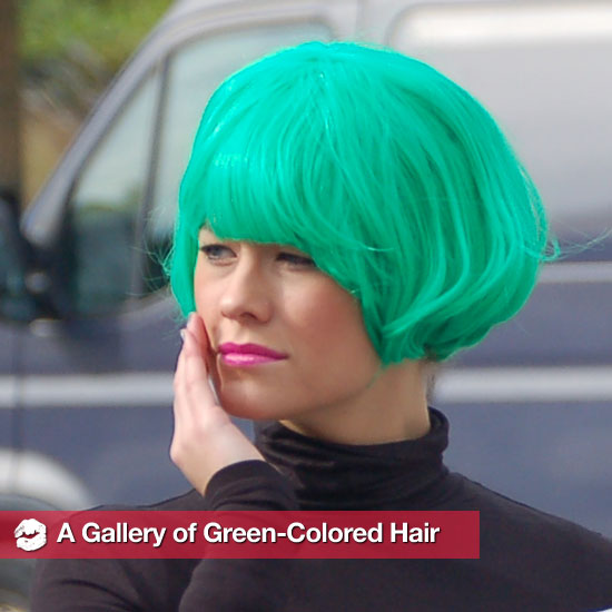Vert-y Nice: A Gallery of Green Hair