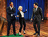Pictures of Amy Poehler and Tiger Woods on Late Night With Jimmy Fallon