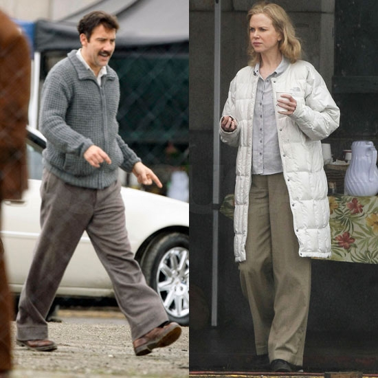 Pictures of Nicole Kidman and Clive Owen on the San Francisco Set of Hemingway and Gellhorn
