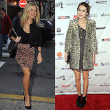 The British beauties style up their respective takes on leopard print.