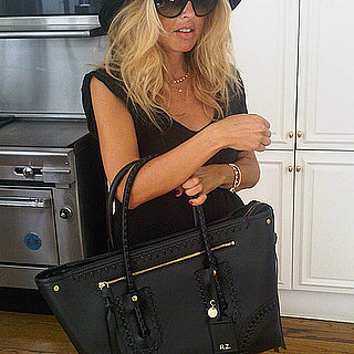 Rachel Zoe Shows Off Her Alexander McQueen Diaper Bag