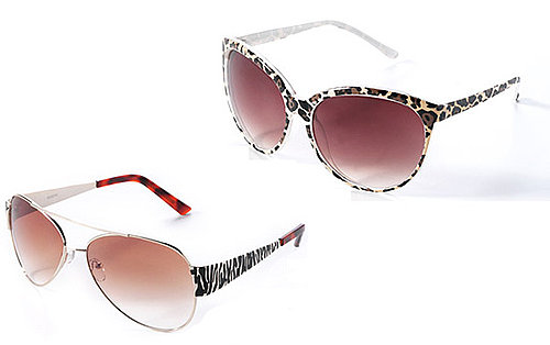 Animal Print Sunglasses for Summer 2011 for Under £10