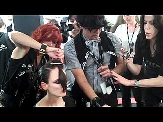 Check Out Backstage Footage of L'Oreal Professionnel's Hair Team at LMFF!