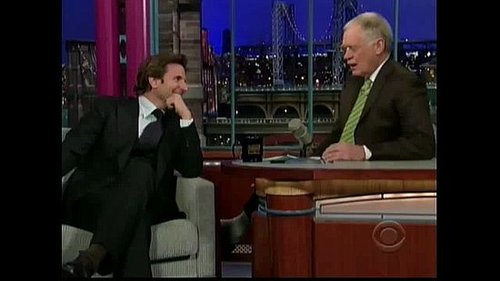 Bradley Cooper Does Spot-On Robert DeNiro and Owen Wilson Impressions on Letterman