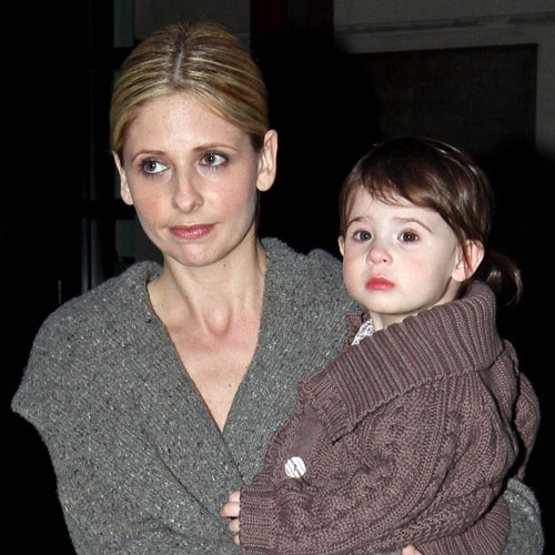 Pictures of Sarah Michelle Gellar and Her Daughter Charlotte Prinze in NYC