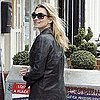 Pictures of Kate Moss Checking Out Her New London Home