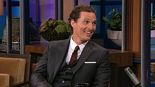 Video: Matthew McConaughey on The Tonight Show With Jay Leno