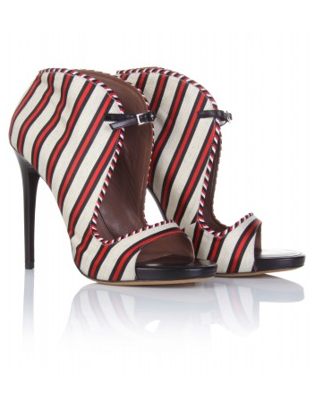 These Tabitha Simmons Sandal Bootie ($849) pack major punch. Now, if only we can justify the steep price tag . . .