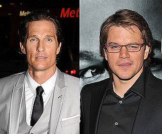 Matt Damon and Matthew McConaughey Talk About Being Dads