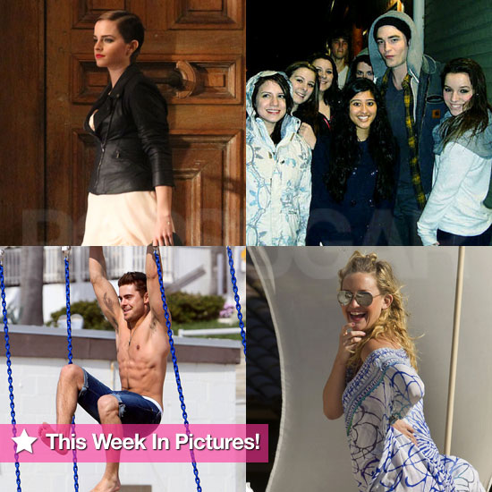 Robert's Kind Gesture, Kate on Vacation, Emma For Lancôme, and Shirtless Zac in This Week in Pictures!