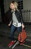 Sienna Miller Wraps a Night of Theater With Her Loves Prada and Chloe