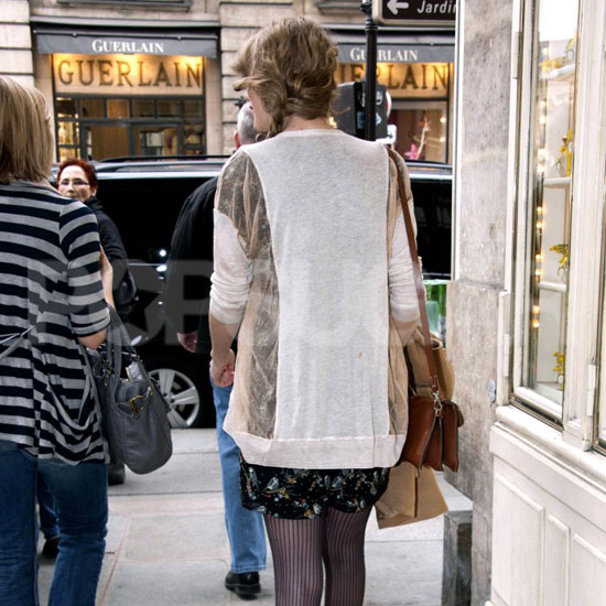 Pictures of Someone Shopping in Paris
