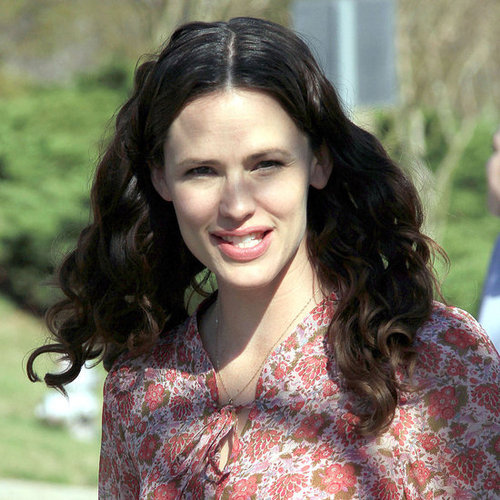 Pictures of Jennifer Garner on the Set of The Odd Life of Timothy Green in Atlanta
