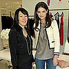 Pictures of Katie Holmes New Holmes & Yang Collection and Valextra Bag