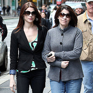 Pictures of Ashley Greene With Her Parents in NYC