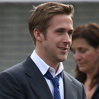 Pictures of George Clooney and Ryan Gosling Filming The Ides of March in Michigan