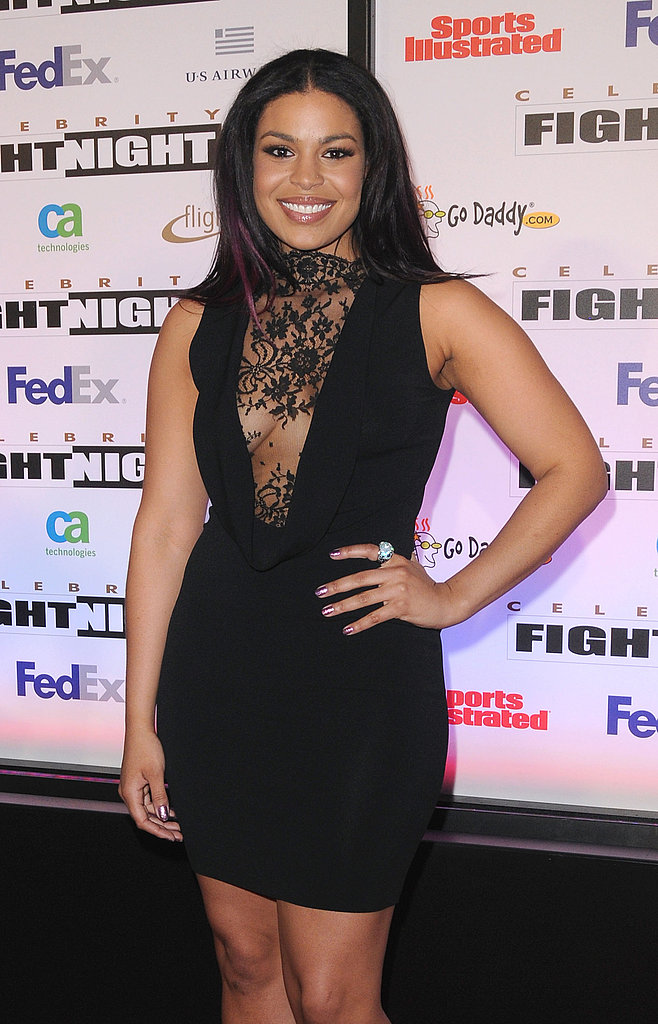 Halle Berry Is a Knockout at Celebrity Fight Night With Kelly Clarkson and Jordin Sparks