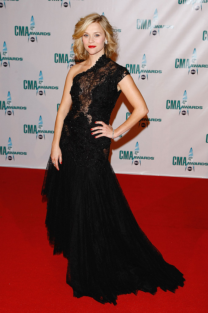 Reese Witherspoon in Marchesa at 2008 CMA Awards