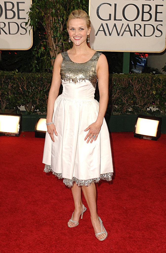 Reese Witherspoon in Chanel at 2006 Golden Globe Awards