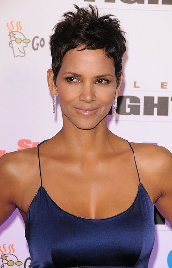 Halle Berry in Rachel Roy Dress