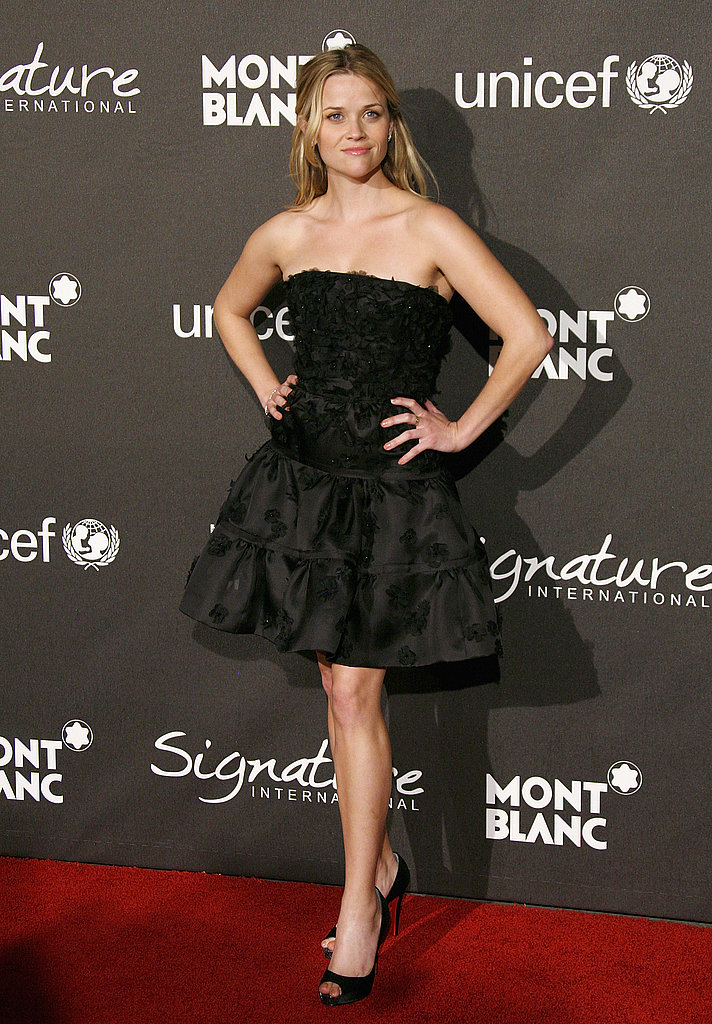 Reese Witherspoon in Christian Dior at 2009 Montblanc Charity Gala