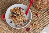 Crunchy: Granola With Almond Milk