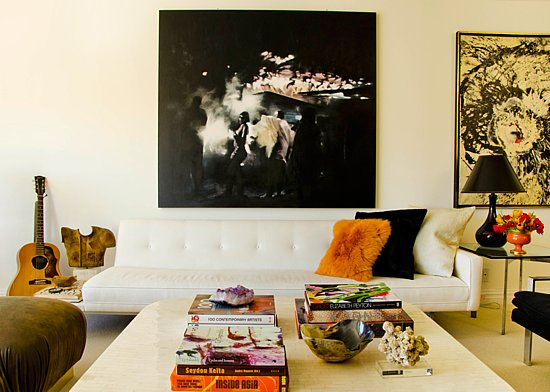 Head over to Vogue to take the tour of the rest of the Garcia's fabulous apartment!