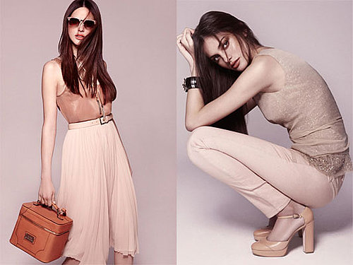 We love: Mango's nude on nude S/S Look Book starring Alejandra Alonso