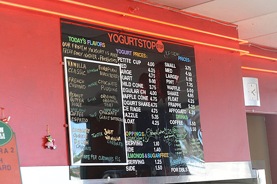 Yogurt Stop: A Menlo Park Favorite For Two Decades