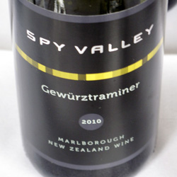 Wine Review: 2010 Spy Valley Gewurztraminer