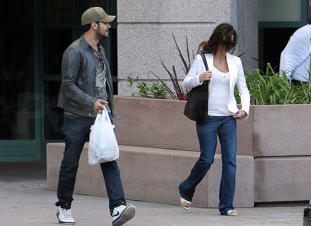 Penelope Cruz Has Her Brother Eduardo on Hand For a Day Out in LA
