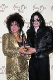 Elizabeth with her good friend Michael Jackson at the American Music Awards in 1993.