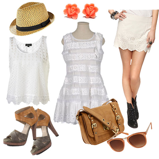 We Style Up Spring's Sweet Eyelet and Lace Trend 5 Fabulous Ways!