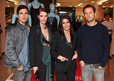 Lazaro Hernandez, Vanessa Traina, Maje founder and creative director Judith Milgrom, Jack McCollough
