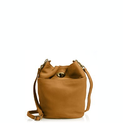 This J.Crew Lockwood Bucket Bag ($138) comes in the perfect size, shape, and hue.