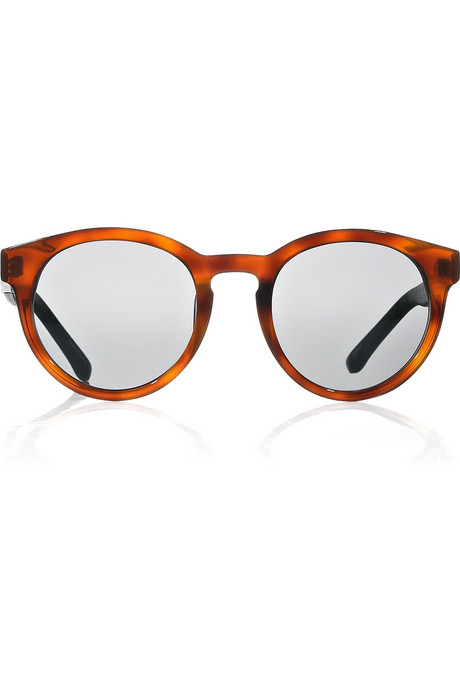 These The Row Round-Frame Sunglasses ($440) are a worthy investment piece.