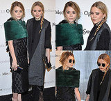 Mary Kate and Ashley Olsen Attend the Opening of Le Comte Ory in NY Wearing Yves Saint Laurent