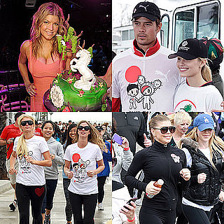 Pictures of Fergie's Las Vegas Birthday and The American Red Cross Youth Run With Josh Duhamel, Paris Hilton, Dianna Agron 2011-03-28 13:18:59