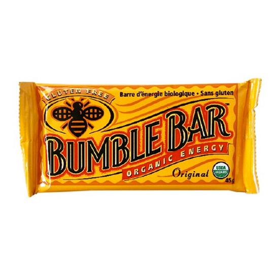 Sweet: BumbleBar Organic Energy Bar
