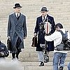 Pictures of Leonardo DiCaprio and Armie Hammer Shooting J. Edgar