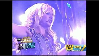 Britney Spears' Good Morning America Performance