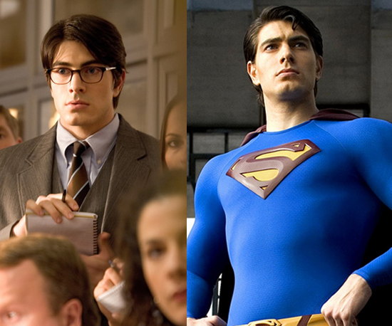 Brandon Routh as Clark Kent/Superman