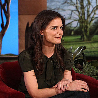 Video of Katie Holmes Talking Suri and Penis Gummies on The Ellen DeGeneres Show