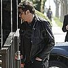 Pictures of Javier Bardem Walking in LA Without Penelope Cruz