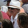 Pictures of Cameron Diaz and Alex Rodriguez at a Yankees Vs. Tigers Game in Tampa