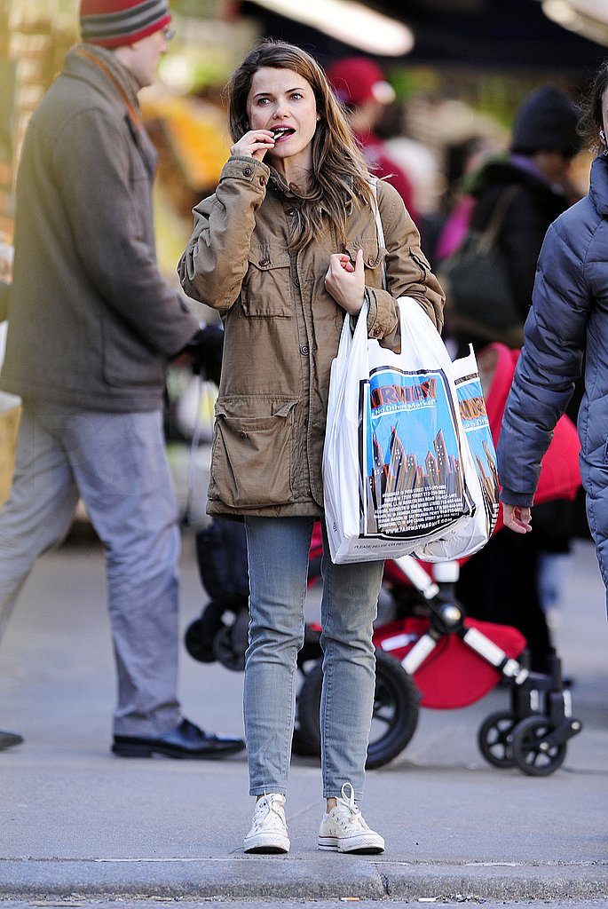 Pictures of Keri Russell Shopping in NYC