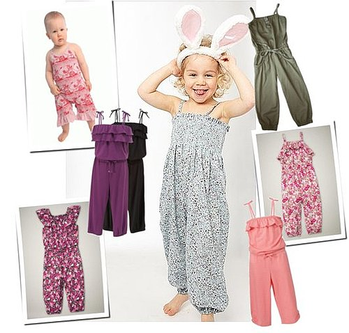 Floral Jumpsuits and Rompers For Little Girls