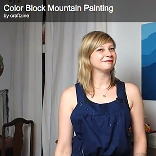 DIY Color Block Painting, Utensil Rack, Pinic Blanket and Kelly Clarkson Home on Market