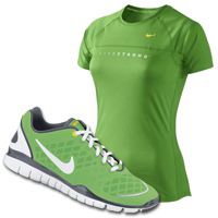 Go Green With Nike LIVESTRONG