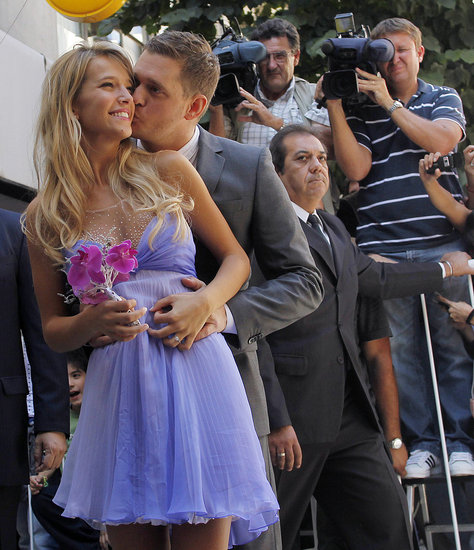 See Photos of Michael Bublé's and Luisana Lopilato's Wedding!